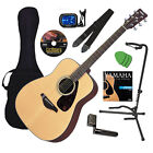 Yamaha FG700S Acoustic Guitar GUITAR ESSENTIALS BUNDLE