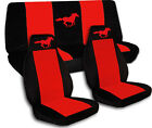 1994 to 2004 Ford Mustang Convertible Horse Seat Covers. Choose Your Colors!