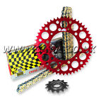 New Honda CRF250R 2004-2015 Regina RX3 Pro Chain And Renthal Sprocket Kit Red