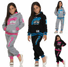 Kinder Sportanzug Trainingsanzug Jogginganzug 4 FARBEN Gr. 104,110,116,122,128..