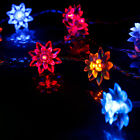 5M 50 LED Battery Power Flower String Fairy Lights for Christmas Colorful