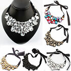CHIC Fashion Bib Charm Necklace Jewelry Pendant Chain Crystal Choker Statement
