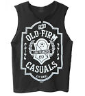 "The Old Firm Casuals ""Crest"" men's raw edge muscle shirt"