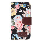 iPhone 6 / 6s Vintage Flower Design Wallet Case