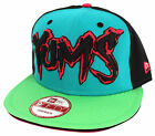 Yums New Era 9FIFTY Mens Unisex Snapback Green Blue Black (EE)