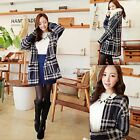 Womens Geometric Tribal Long Sleeve Knitted Cardigan Sweater Tops Outwear B5UT