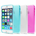 """For iPhone 6 4.7"""" / 6 Plus 5.5"""" Case Soft Crystal TPU Scratch Resistant Cover"""