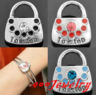 1piece Click Snap On Crystal To Stop Lock Metal Button Fit Style Bracelet