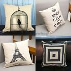 V1NF Modern Style Pillow Cases Sofa Back Cushion Covers Home Decor Living Room