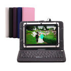 "iRulu 7"" 1024*600 HD Android 4.4 KitKat Tablet PC 8GB Quad Core White w/Keyboard"