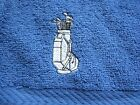 Personalised 500grm golf sports towel, + clip, various colours available,