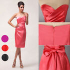 2015 CHEAP Strapless Ball Cocktail EVENING Prom Party Mother of the Bride Dress