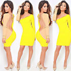Womens Lady Formal Long sleeve Deep V Sexy Evening Cocktail Party Gown Dress