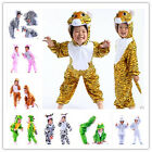 Xmas Animal Costumes Zoo Farmyard Woodland Kids Fancy Dress Boys Girls Onesie