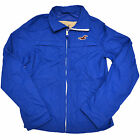 Hollister Jacket Light Weight Mens Rain Track Zip Up Embrodiery Seagull S M V219
