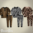 "NWT Vaenait Baby Infant Toddler Kid Clothes Sleepwear Pajama Set ""Safari Park"""
