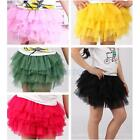Baby Girls Tutu Skirt Princess Dress Up Toddler Dance Wear Party Multi Color