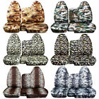 Cc 98-03 Ford Ranger Army Camo Car Seat Covers 60 / 40 Split Bench W / Molded Hr