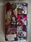 Ever After High Girls Underwear Underpants 7 Pair Panty Pk Sz 4 6 8 10 NIP