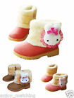 Lovely Baby Girls Infant Toddler Kids Winter Warm Faux Fur PU Snow Boots Shoes