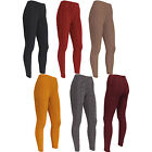 New Womens Ladies CHUNKY Thick KNITTED CABLE Thermal LEGGINGS Pants Size 8 10 12