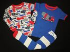 Baby Gap pajamas NWT DUMP TRACTOR TRAILER CEMENT TRUCK Bus Taxi Car 3pc set