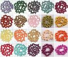 8-9mm Cultured Rice Oval Fresh Water Pearl Top Drilled Loose Freeform DIY Beads