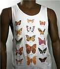 Billabong Clockwork Mens White Singlet Top FLYING HIGH Pills Med Large or XLrg