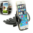 360 Rotate Car CD Dash Slot Mount Stand Holder Bracket Universal for Cell Phone