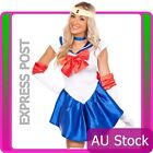 Sailor Moon Venus Costume Cosplay Uniform Fancy Dress Up Fantasy Outfit