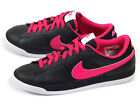 Nike Wmns Match Supreme LTR Black/Fireberry-Pink-White Leather Casual 631461-066