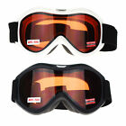Matte Rubberized Brown Lens Anti Fog Double Lens Sports Snowboard Ski Goggle