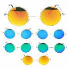 Retro Extra Small Snug Fit Round Circle Revo Lens 70s Groovy Hippie Sunglasses