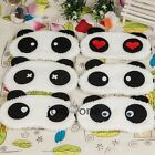 Cute Panda Face Plush Soft Travel Night Sleeping Eyes Shade Blindfold Mask Gift