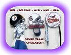 NFL SPORT CAP & JACKET PEG HANGER (Great for kids & dorm rooms - the man cave)