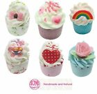 Variety Luxury Fragranced Bath Mallow Melt Cup Cake Treat Bomb Cosmetics Gift