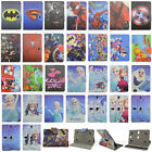 For 7 RCA Tablet Kids Super Hero Disney Cute Cartoon Frozen Leather Case Cover