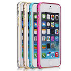 Perfect Fit Fashion Aluminum Alloy Metal Frame Bumper for Apple iPhone 5 5S New