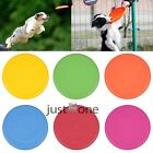 Flexible Dog Frisbee Flying Disc Tooth Resistant Funny Large Training Fetch Toys