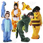 Sale Dress Cosplay Onesie Kid Unisex Onsie Kigurumi Pyjamas Animal Sleepwear Uk