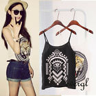 HOT Fashion Sexy Women Girl Casual Chiffon Vest Top Tank Sleeveless Shirt Blouse