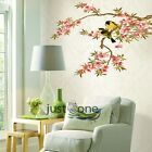 Removable Safe Tree Birds Bear Wall Paper Sticker PVC Home Art Decor 14 Patterns