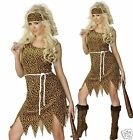 Cave Girl Fancy Dress Tarzan Jungle Jane Cavewoman Costume UK 8-18