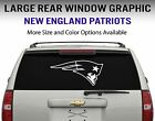 New England Patriots Window Decal Graphic Sticker Car Truck SUV - Choose Size on eBay