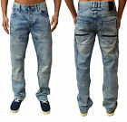 Mens Designer Voi Jeans Regular Fit Straight Leg Stylish Fashion Denim Arlo Pant