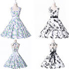 Vintage 50's 60s clearance Swing Retro ROCK ROLL Pinup Rockabilly Summer Dresses