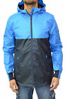 Mens New Designer Voi Jeans Jacket Waterproof Hooded Top Coat Anorak Rain Neeson