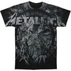 Metallica Stone Justice Metal Rock Band T-Shirt Tee Men's Adult S M L XL 2XL