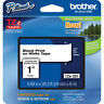 "Brother TZ251 TZe251 1"" inch 24mm black on white TZ tape PT520 PT2430 P-Touch"