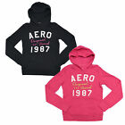 Aeropostale Aero Women's Pullover Hoodie Jacket Graphic Sweatshirt New V077